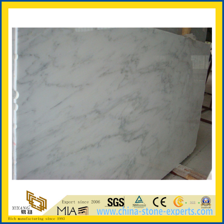 East White Marble Slab for Flooring and Wall