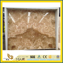 New Quarry BookmatchYellow Onyx Slab for Walling, Flooring (YQW-OS1002)