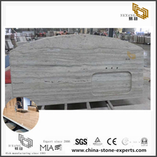 Affordable River White Granite Countertop for Bathroom & Kitchen (YQW-GC072604)