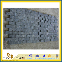 Black Basalt Mosaic for Walling and Flooring (YQZ-M)