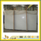Polished Stone Crystal White Marble Slabs for Countertop/Vanitytop (YQC)