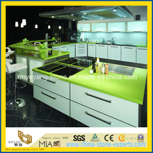 Apple Green Quartz Kitchen Counter Top / Work Top / Bench Top