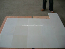 Polished White Marble Stone Tile for Flooring, Walling