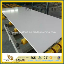 Artificial Pure White Quartz / White Caesarstone for Countertop