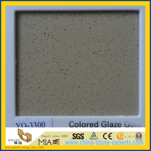 Glaze Golden Caesarstone Quartz for Modern Kitchen Design