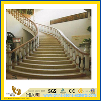 Granite Stone Staircase Banister Railings for Home
