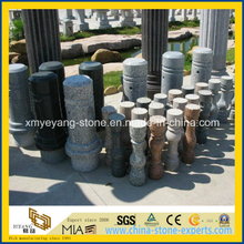 Natural Chinese Stone Baluster / Granite Baluster for Outdoor Garden