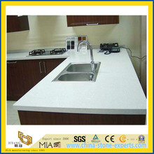 Crystal White Artifical Stone Quartz Countertop for Kitchen/Bathroom