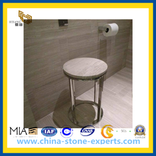 White Wood Marble for Floor and Wall Tiles(YQC)