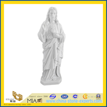 White Marble Sculpture Stone Carving Buddha Statue