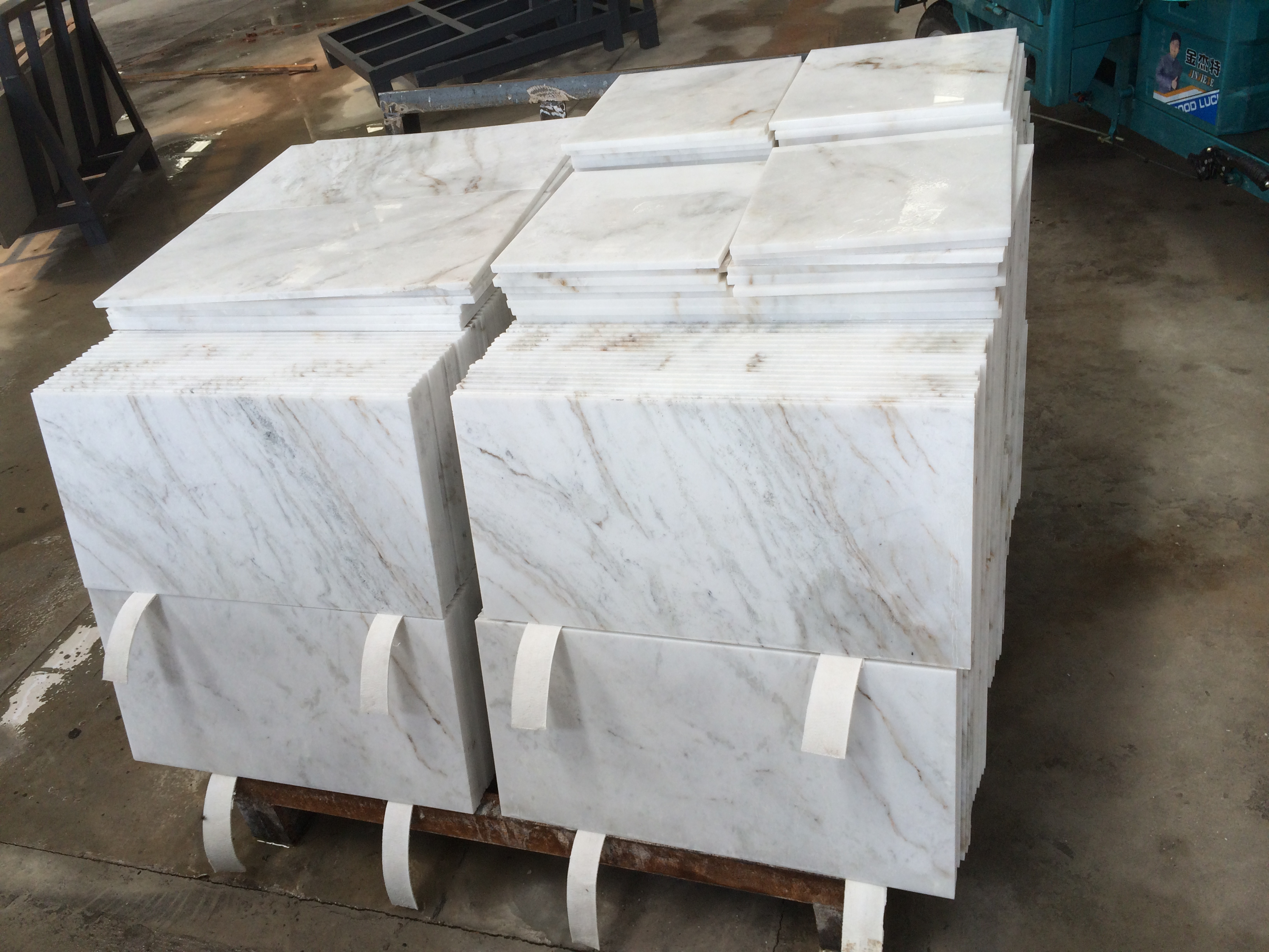 Arabescato Venato-NEW White Marble Tiles from YEYANG Quarry