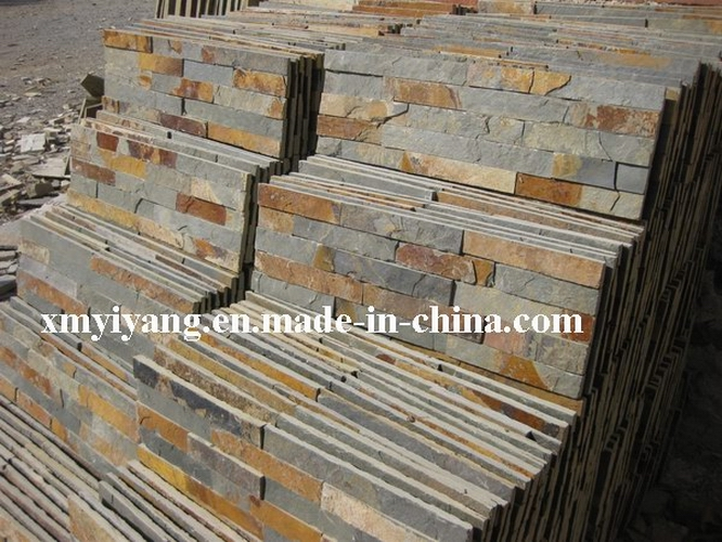 Rusty Slate Natural Stack Stone, Cultured Stone