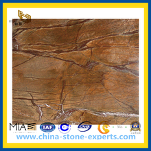 New Marble Rain Forest Brown for Tile and Slabs(YQC)