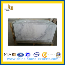 China Calacatta White Marble Tile for Flooring, Walling(YQC)