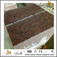 Three Gorge Red Granite Stone Small Tiles Outlet