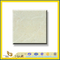 Polished Natural Stone Crema Marfil Marble Slabs for Wall/Flooring (YQC)
