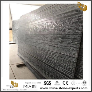 Dark Grey Da Vinci Brown Marble Slab With Polished