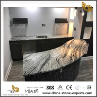Granite Silver Cloud Kitchen Countertop Polished Granite
