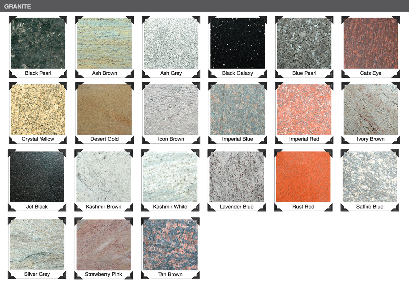 What Kinds of Granite Finishes Are There? @YEYANG STONE