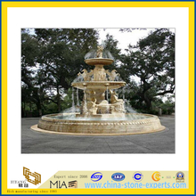 Yellow Marble Garden Water Fountain(YQG-LS1019)