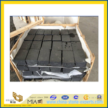 Zhangpu Flamed Black Basalt Cubestone for Outdoor Paving