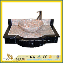 Multi-Color Polished Hand Washing Granite Bathroom Stone Sink