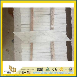 House Flooring Carrara White Marble Stone Tile (YYT)