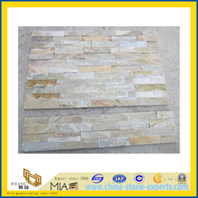Cheap Natural Yellow Culture Stone for Wall Cladding (YQA-S1009)