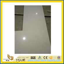 White Quartz Stone Countertop for Indoor Decoration