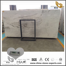 White Arabescato Venato Marble for Kitchen Countertop (YQW-MSA0706013)