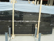 White Black Marble Stone Slabs (YY-MT2102)