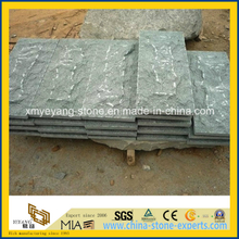 Natural Split G612 Green Granite Mushroom Stone Tile for Wall