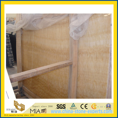 Chinese Natural Stone Honey Onyx Slab for Decoration