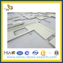 Artificial Quartz Stone Vanity Top and Counter Top (YQA-QC)