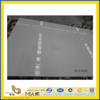 White Engineered Stone Artificial Marble Slab for Floors /Countertop(YQC)