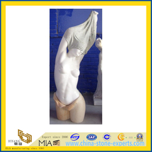 Custom Decorative Marble Statue Nude Female Sculpture Lady Bust Statues(YQC)