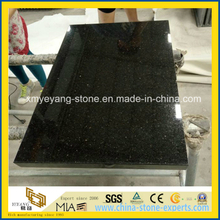 Black Galaxy Granite Tile for Wall or Floor or Stair