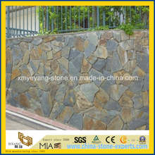 Rusty Slate Wall Covering for Outdoor Landscape