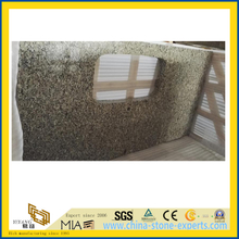 High Polished Gialle Golden Autumn Granite Countertop for Kitchen/Bathroom/Wall Decoration