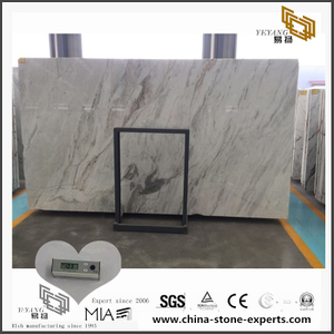 New Arrival Fashion White Arabescato Venato Marble for Kitchen Background (YQW-MSA0706020)