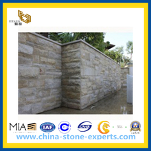 G682 Yellow Granite Mushroom Tile for Exterior Wall Building (YQW-GMS1211)