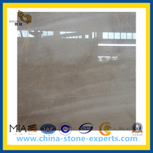Cheap Price Polished Natural Beige Marble for Bathroom Floor Tile(YQC)