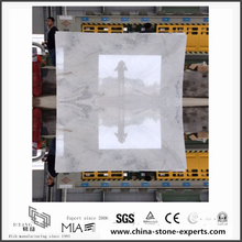 Top New Arabescato Venato White Marble Slabs for Bathroom Decoration (YQW-MSA06052203)
