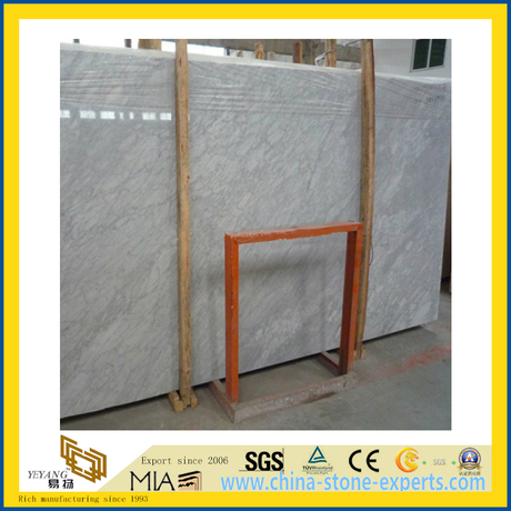 Carrara White Stone Marble for Countertop or Building Material