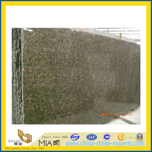 Flamed Natural Stone Baltic Brown Granite Slab for Countertop/Vanitytop (YQC)