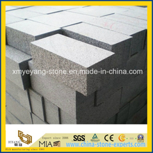 G654 Dark Grey Granite Stone Brick for Landscape Project