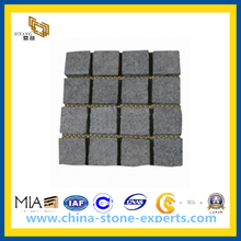 Flamed Black Basalt Tiles for Paving Stone and Gardening (YQW-BT10013)