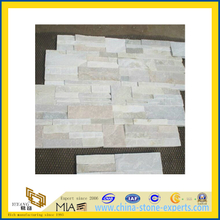 White Culture Stone Slate for Wall Decoration (YQA-S1071)
