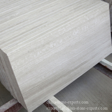 Polished White Wooden Marble Floor Tile / Wall Tile (YQZ-MT1009)