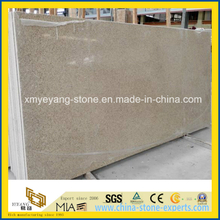 Light Brown Artificial Quartz Stone Slab for Cuntertop / Tabletop
